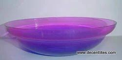 Decorative Colored Glass Bowl
