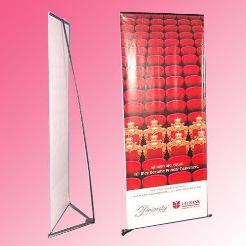 Banner Stands V Banner Stands Manufacturer From Mumbai