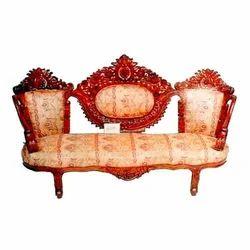 Triple Seating Wooden Sofa