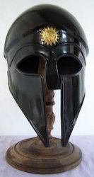 Corinthian Helmet In Black Finish