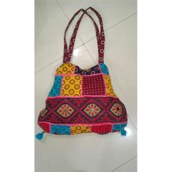 Embroidered Brown Rajasthani Bags