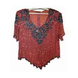 Red Beaded Tops