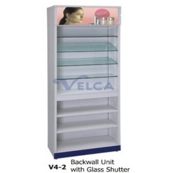 Backwall Unit With Glass Shutter
