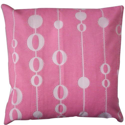 Brasso Fabric & Hand Work Cushion Cover