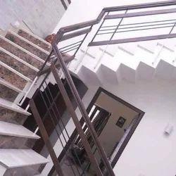 Iron Rod Inner Staircase Railing