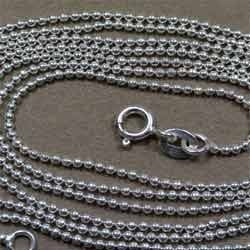 Sterling Enterprises Sterling Silver Ball Chains