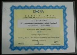 ONICRA Certification