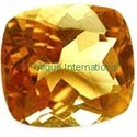 Citrine Cushion Cut Gemstone