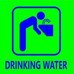Drinking Water Signage