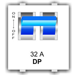 Double Pole MCB