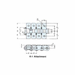 K-1 Attachment Chain