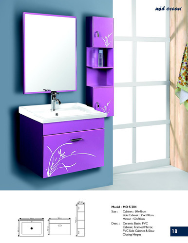 Bathroom Cabinets Kolkata wall hung pvc cabinets - mo s 244 pvc cabinet manufacturer from