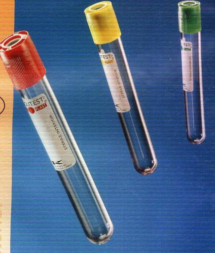 Laboratory Consumables - Blood Sample Collection Tube