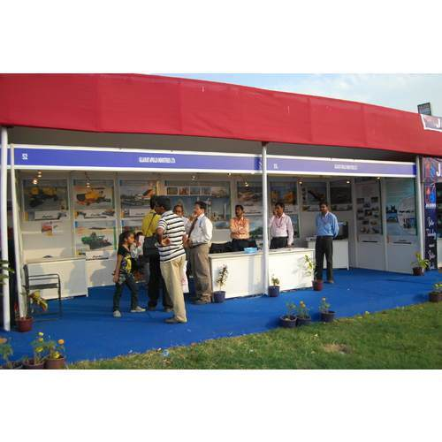 Exhibition Stall Price : Octonorm stall view specifications details of