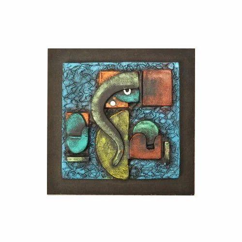 Home Decor Handicrafts: Ganesha Wall Frame Manufacturer