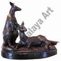 Kangaroo Pair Statue