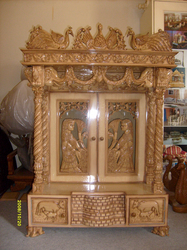 Wooden Swings \u0026 Temples Exporter From Nadiad Pezcame.