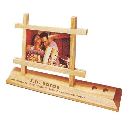Photo Frame with Pen Holder at Rs 195 /1 no.   Picture Frame - S. D. ...