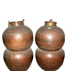 Brass Double Pots