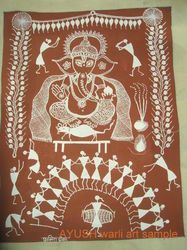 Warli Painting with Customized Themes