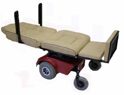 Powered Deluxe Bed Wheelchair