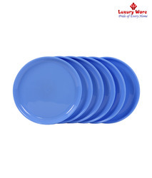 Blue Full Round Plate
