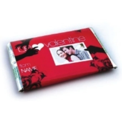 Personalized Chocolate Wrapper