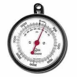 Altimeter With Barometric Pressure Scale ( Al003 )