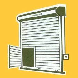Gear Type Rolling Shutter With Wicket Door  sc 1 st  IndiaMART & Gear Type Rolling Shutter With Wicket Door u0026 Shutter Gate ... pezcame.com