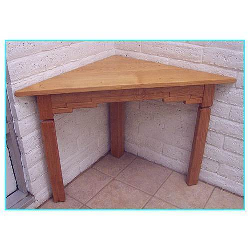 Wooden Furniture Office Corner Table Manufacturer from Bengaluru