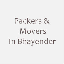 Packers & Movers Bhayender