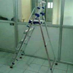 Aluminum Platform Step Ladder