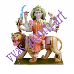 DU-0007 Durga Mata Statue