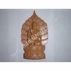 Wooden Krishna With Patti