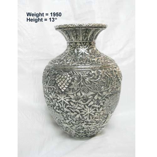 Silver Plated Flower Vase Vase And Cellar Image Avorcor
