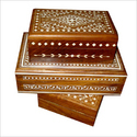 Wooden Inlay Jewellery Boxes