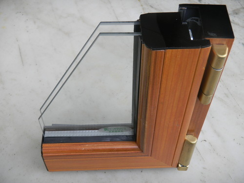 Wood Clad Aluminium Windows With Thermal Break Sections