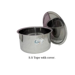 S.S Tope with Cover