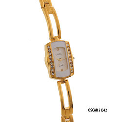 Ladies Square Dial Fancy Wrist Watch
