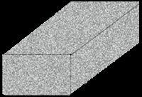 Solid Block 400x200x200 mm