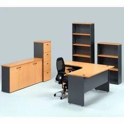 White Modular office Furniture