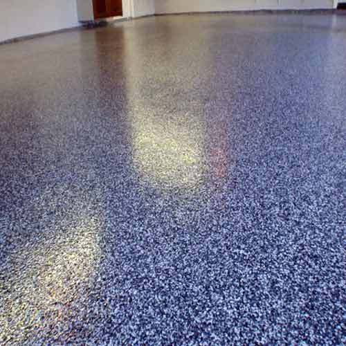 Floor Topping Services Multi Colored Epoxy Floor Topping