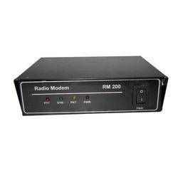 Black Radio Modem