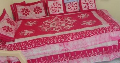 Diwan Bed Sheet Batik