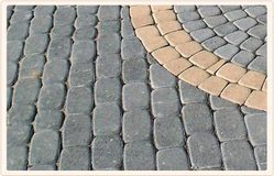 Grey Stone Cobbles, for Pavement