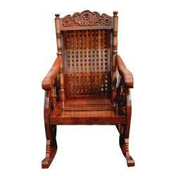 Wooden Rocking Chair At Best Price In India