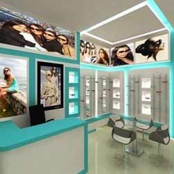 Spectacles Showroom Interior Designing