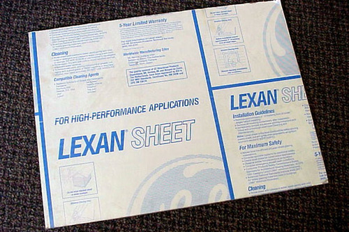 Lexan Sheets - Lexan Structured Products Manufacturer from