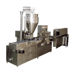 Bhavani Automatic Jar Filling Machine, Capacity: 20 To 40 piece Per Minutes