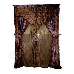 Net Velvet Curtains